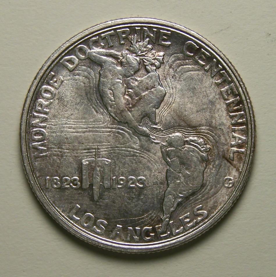 Other Us Coins Coins: Us S Monroe Doctrine Centennial Half Dollar Capable 1923